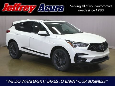 New 2019 Acura RDX A-Spec Package