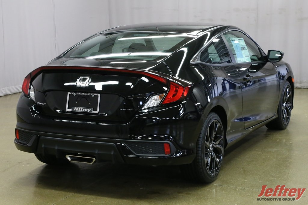 New 2019 Honda Civic Sport 2d Coupe In Roseville J300243 Jeffrey