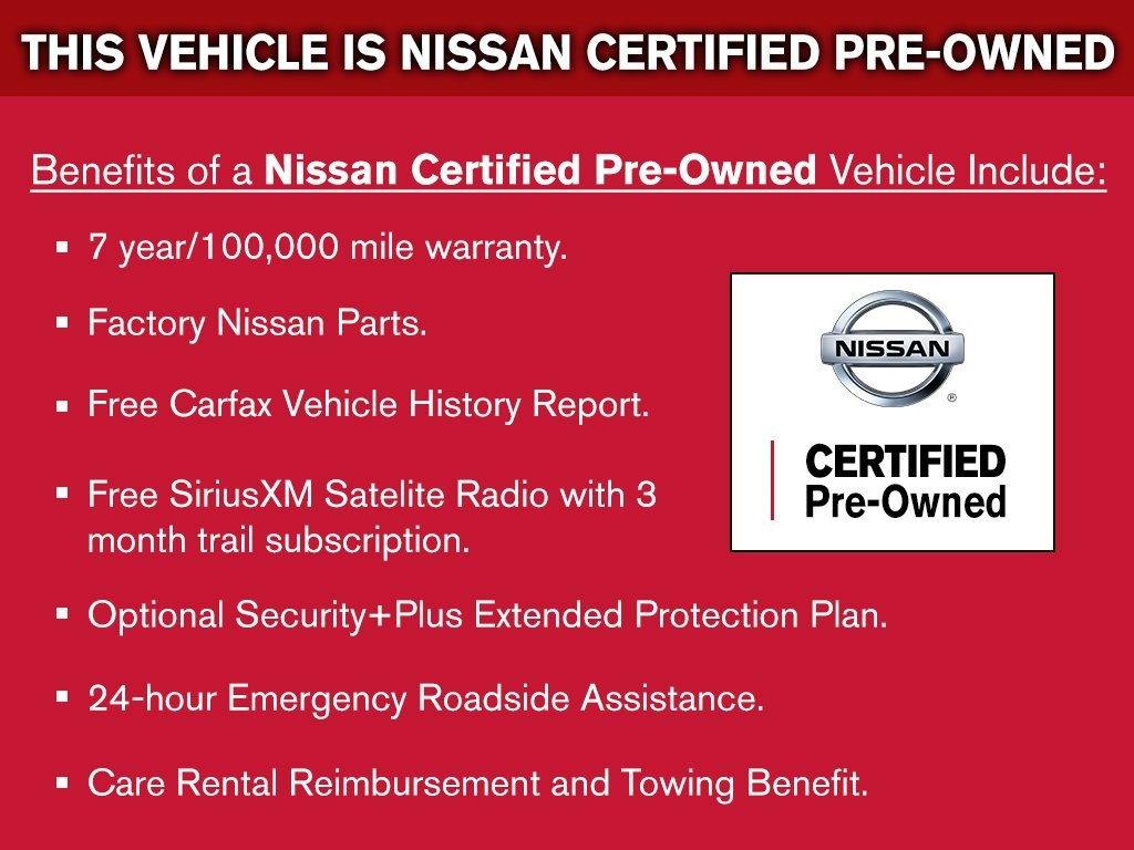 nissan owned carfax is the history automotive used pre belt for certified vehicle logo pine expert